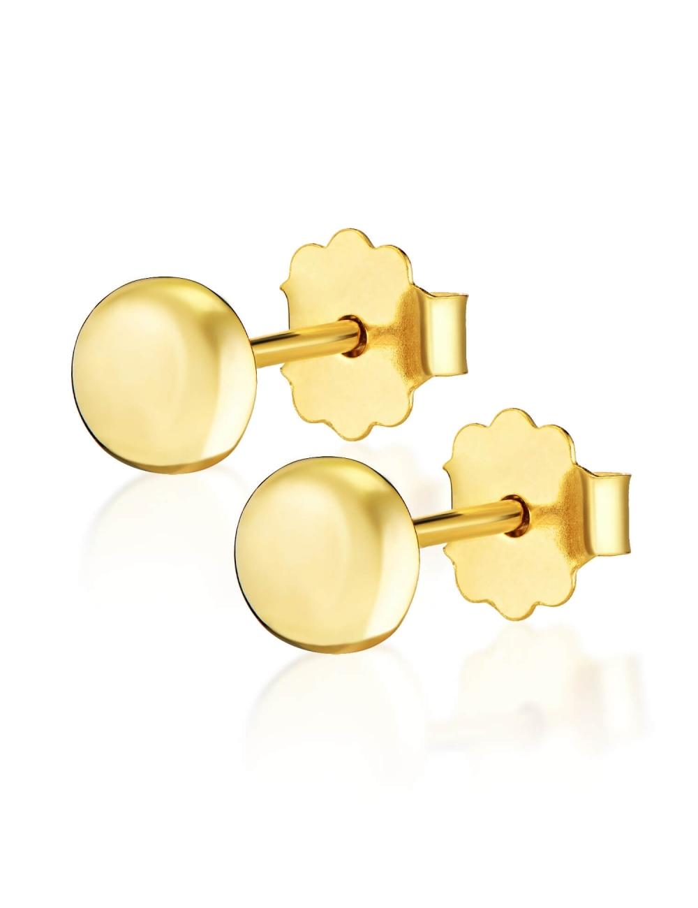 złote kolczyki dla dzieci